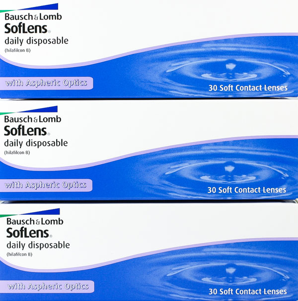aff5fdee833 Buy Soflens Daily Disposable 90 Pack Online at Contact Connection