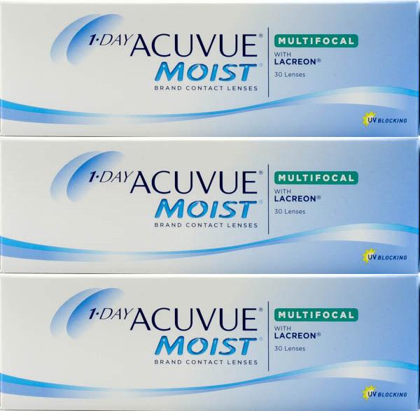 Приобретая линзы 1-day acuvue moist, у вас появляется возможность